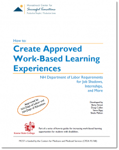 Create Approved Work Based Learning Experiences