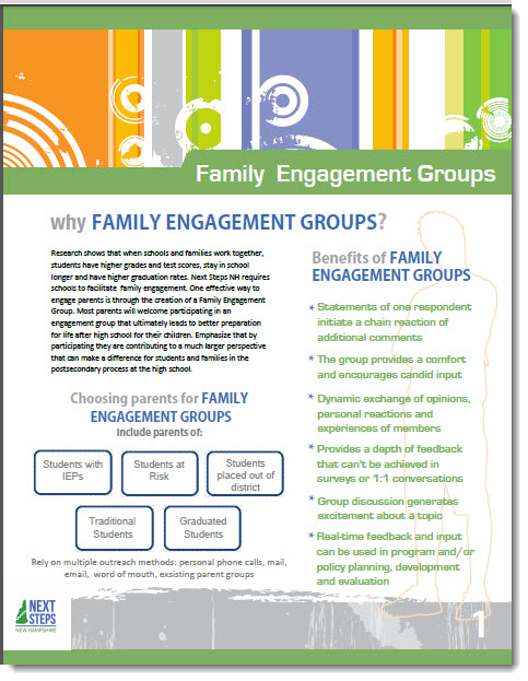 cover of Family Engagement Groups manual
