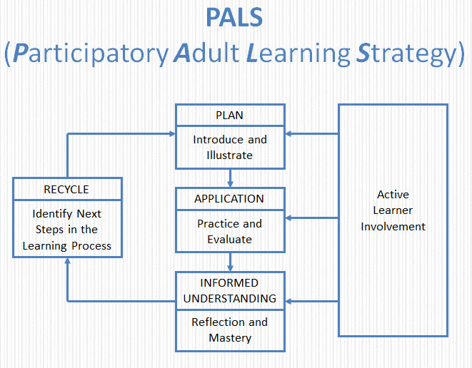 PALS Strategy diagram showing flow