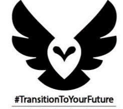 Timberland wings and heart transition logo