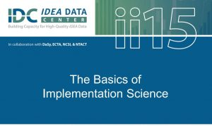The Basics of Implementation Science (first page of PDF)