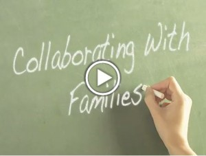 Cover image for the Collaborating with Families course