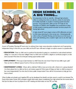 High School is a big thing image