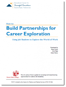Building Partnerships for Career Exploration